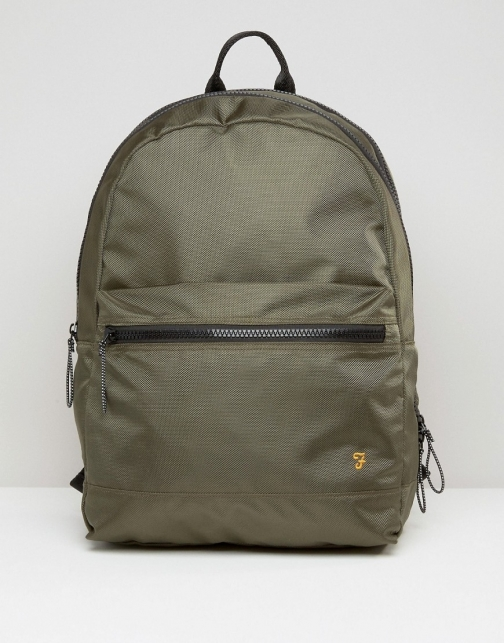 Farah Green Backpack