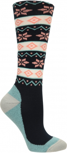 Mountain Warehouse Womens Patterned Ski - Navy Sock