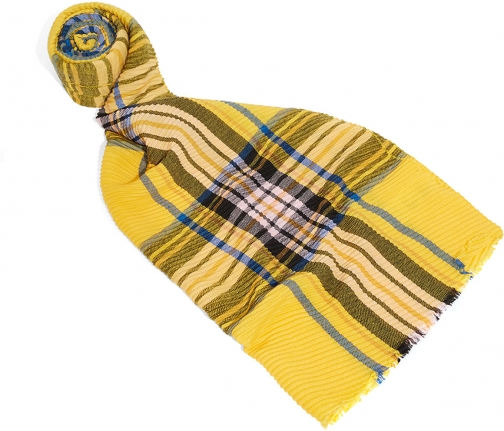 Oasis CRINKLE CHECK Scarf