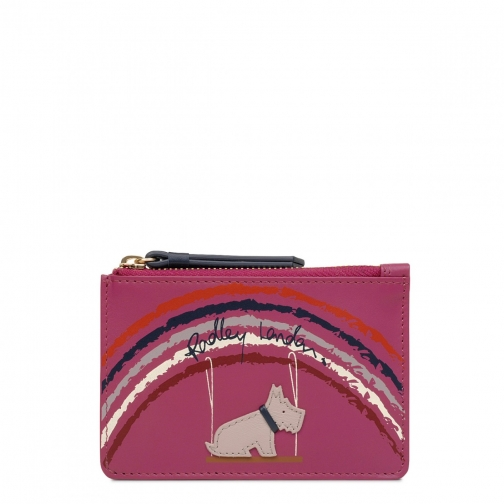 Radley Swinging On A Rainbow Small Zip Around Wallet