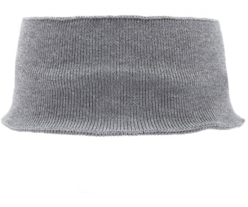 Forever21 Forever 21 Wide Ribbed Headband Grey Headwear