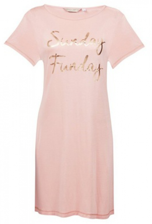 Dorothy Perkins Rose 'Sunday Funday' Nightie Pyjama