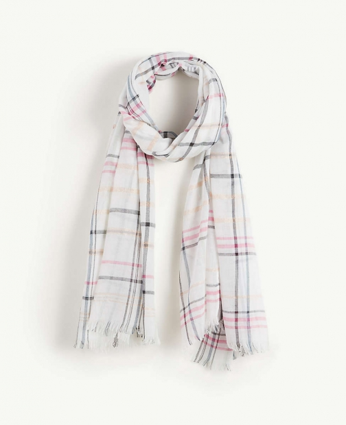 Ann Taylor Plaid Scarf