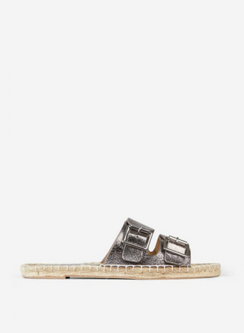 Dorothy Perkins Pewter 'Farla' Sandals