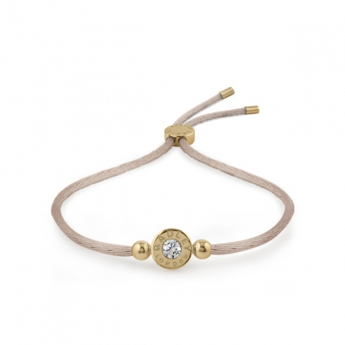 Oasis London Fountain Road Crystal Stone Adjustable Bracelet
