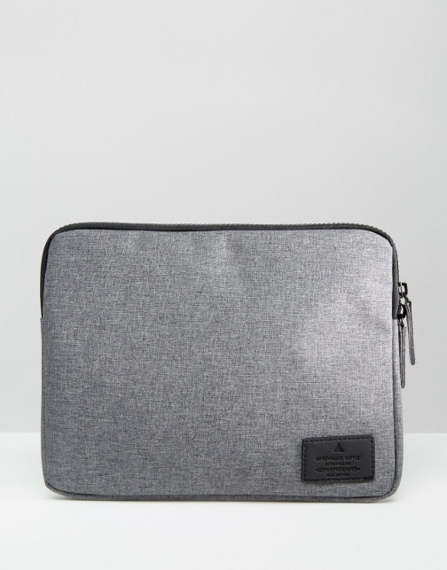Asos Ipad With Contrast Zip Case