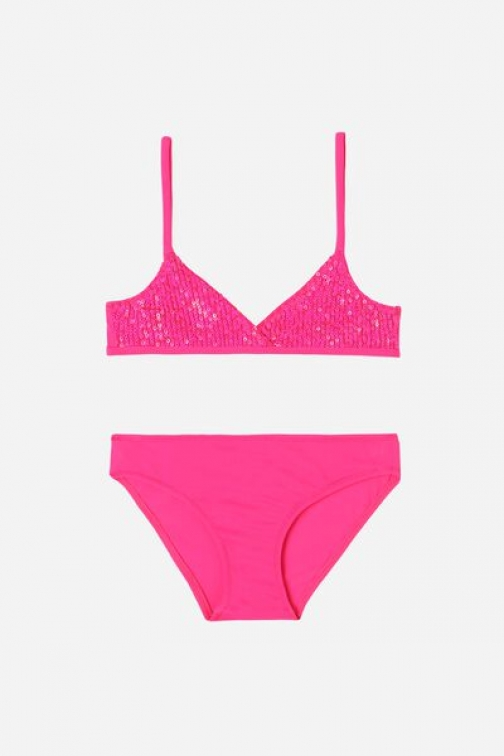 Calzedonia Two Piece Girls' Trilli Girl Pink Size 14 Swimsuit