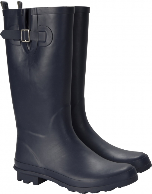 Mountain Warehouse Puddle Perfection Womens Rubber - Navy Welly