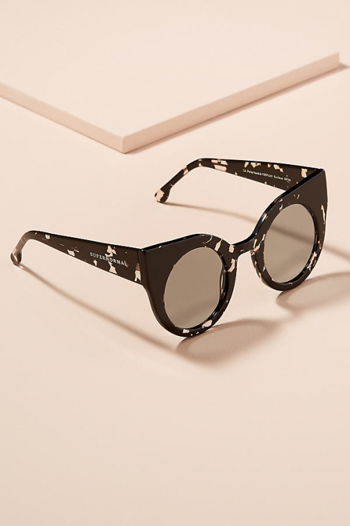 Anthropologie Supernormal Curious Cat-Eye Sunglasses