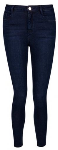 Dorothy Perkins Petite Rich Blue Shape And Lift Jeans