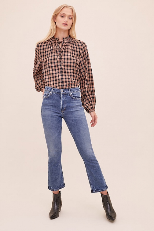 Citizens Of Humanity Demy Cropped- Flared Jeans