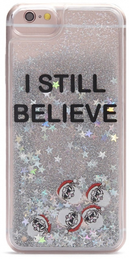 Forever21 Forever 21 I Still Believe For IPhone 6/6s/7/8 Silver/multi Case