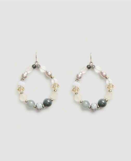 Ann Taylor Factory Beaded Statement Earring