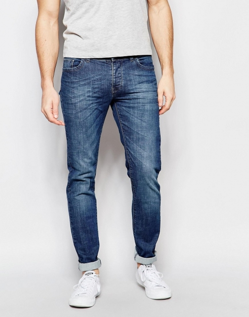 United Colors Of Benetton Mid Wash Skinny Fit Jeans