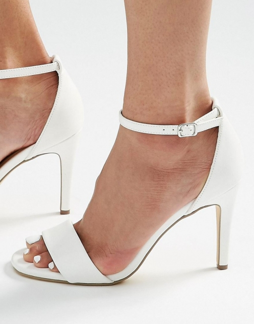 New Look Mid Heel Barely There Sandal
