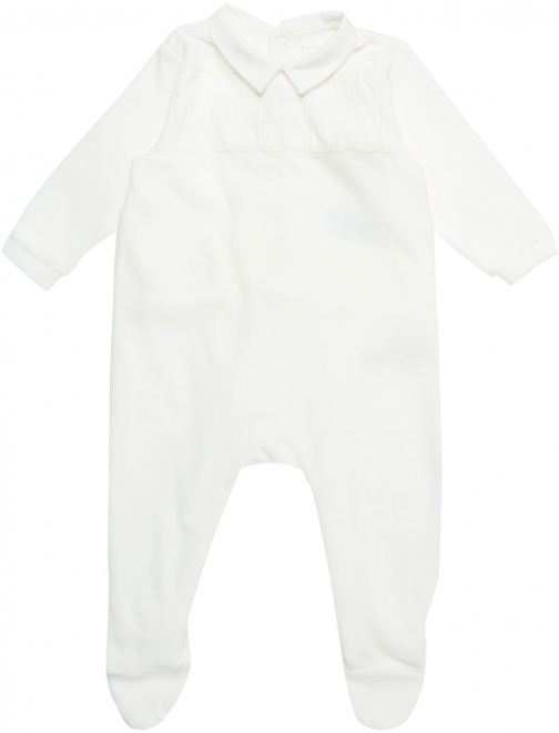 House Of Fraser Carrement Beau Baby Boys Terry Velvet Pyjama