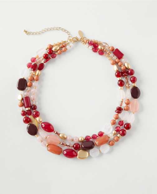 Ann Taylor Factory Stone Statement Necklace
