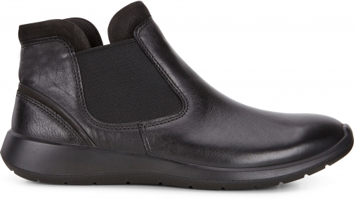 Ecco Soft 5 Low Size 4-4.5 Black Chelsea Boot