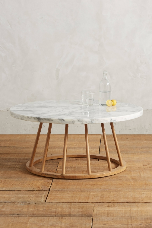 Anthropologie Hollyton Coffee Table, Circle Accessorie