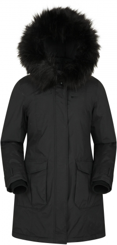 Mountain Warehouse Aurora Womens Down - Black Jacket