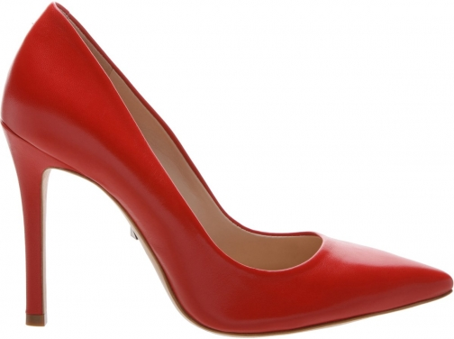 Schutz Shoes Gilberta Pump - 8 Club Red Leather Pumps