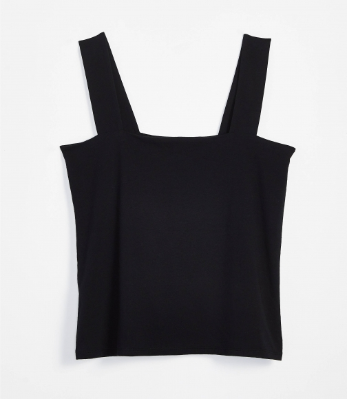 Loft Petite Fitted Square Neck Outfit-Making Tank Tank Top