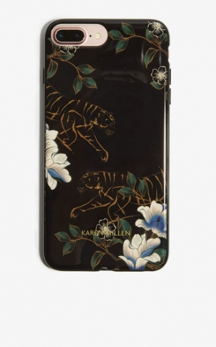 Karen Millen Tiger Print IPhone 7+ Case