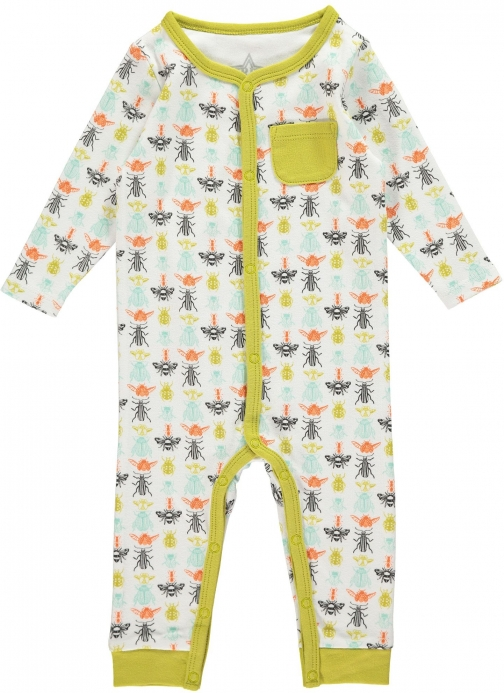 House Of Fraser Rockin' Baby Boys Bug Print Footless All--One Clothing