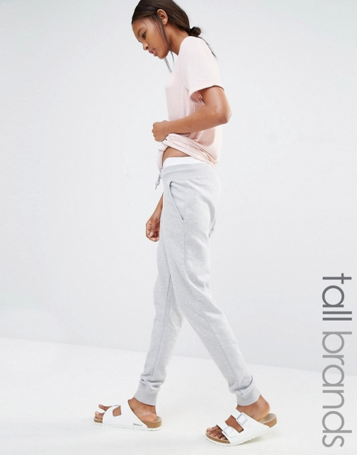 Asos Missguided Tall Waist Track Pants Tie