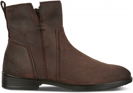 Ecco Touch 15 Womens Bootie Size 4/4.5 Coffee Boot