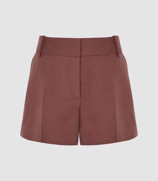 Reiss Lyla - Tailored Mahogany, Womens, Size 6 Short