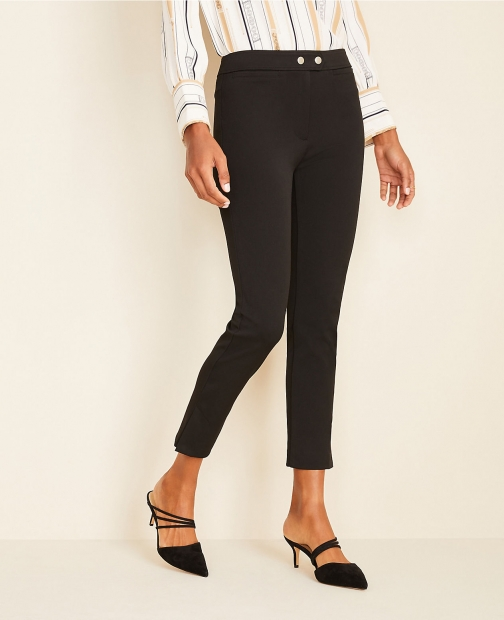 Ann Taylor The Petite Skinny Crop Pant Trouser