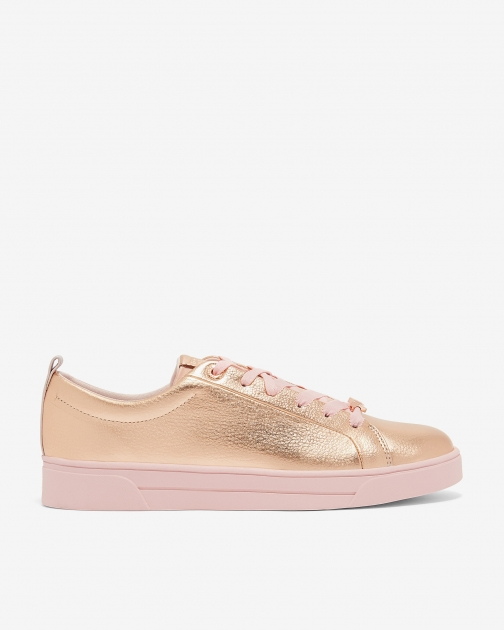 Ted Baker Lace Up Tennis Trainer