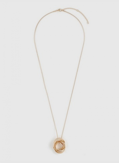 Dorothy Perkins Gold Knot Necklace