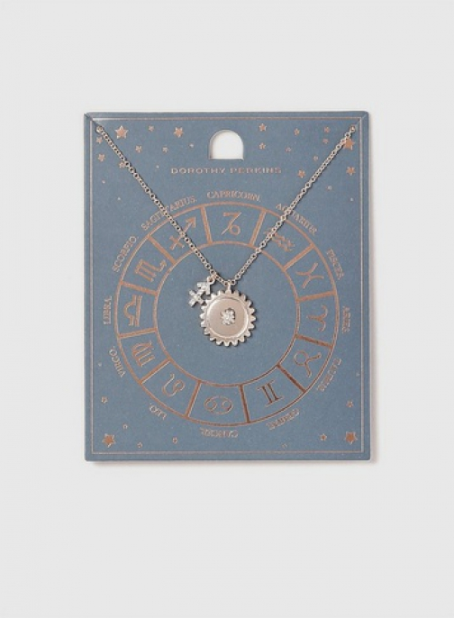 Dorothy Perkins Sagitarius Horoscope Necklace