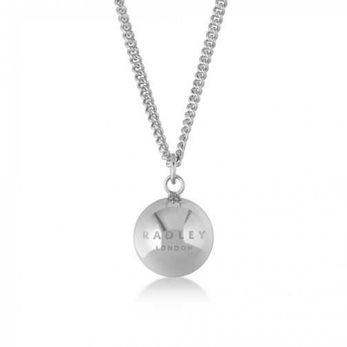 Radley Bliss Crescent Silver Necklace