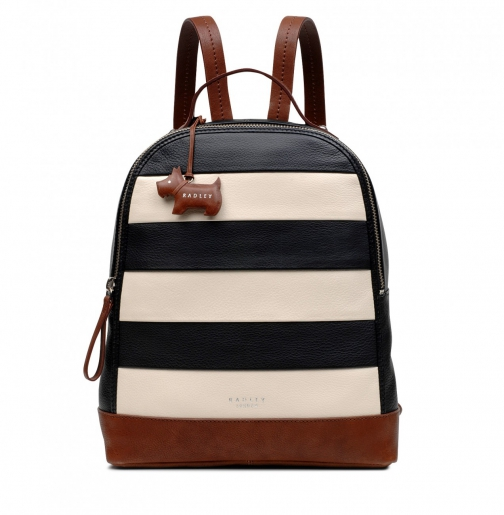 Oasis London Babington Medium Zip-Top Backpack