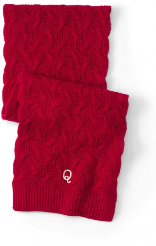 Lands' End Women's Cable Knit Winter - Lands' End - Red Scarf