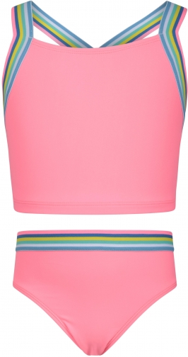 Mountain Warehouse Kids Cross Back - Pink Tankini