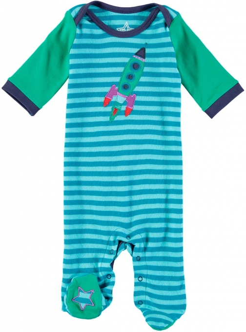 House Of Fraser Rockin' Baby Boys Rocket Onesie