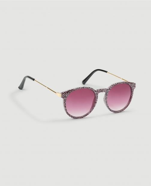 Ann Taylor Factory Spotted Round Sunglasses