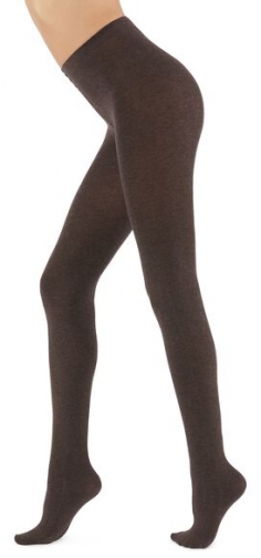 Calzedonia Soft Modal And Cashmere Blend Woman Brown Size 3 Tight
