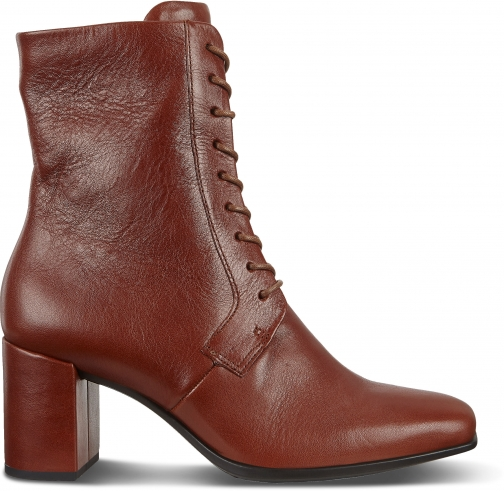 Ecco Shape 60 Womens Squared Lace-up Boot