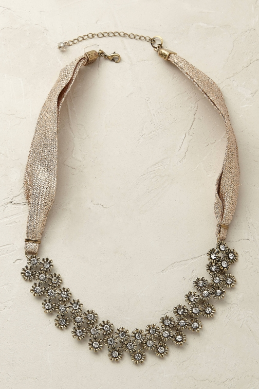 Anthropologie Amabelle Bib Necklace