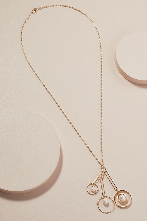 Anthropologie Janis Pearl-Detailed Necklace