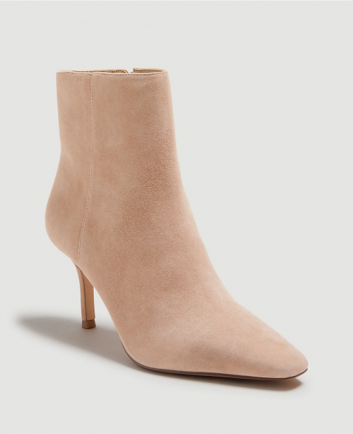 Ann Taylor Kody Suede High Heeled Booties Boot