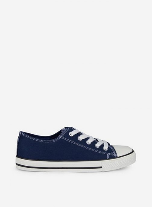 Dorothy Perkins Wide Fit Navy 'Icons' Trainer