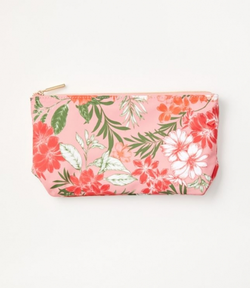 Loft Floral Cosmetic Pouch