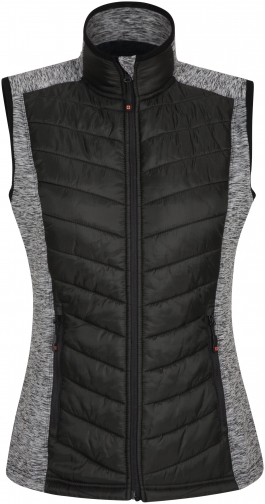 Mountain Warehouse Action Padded Womens Padded - Black Gilet