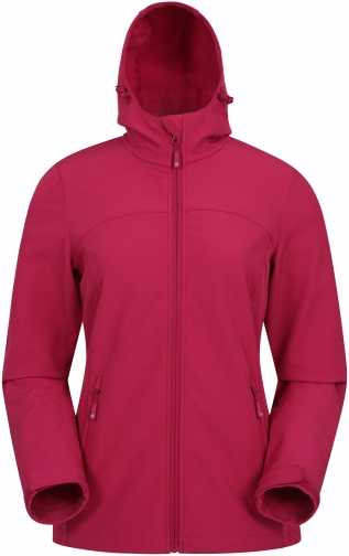 Mountain Warehouse Exodus Womens Softshell - Pink Jacket